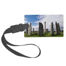 Callanish stone circle Luggage Tag