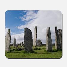 Callanish stone circle Mousepad