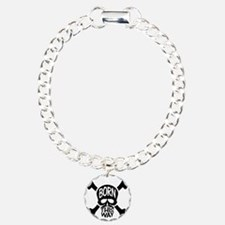 Born This Way Skull & Cr Bracelet