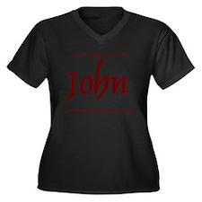 Master Chef  Women's Plus Size Dark V-Neck T-Shirt