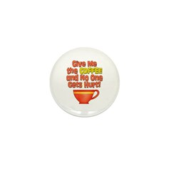 Give me the Coffee Mini Button (10 pack)