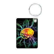 Brain activity Keychains