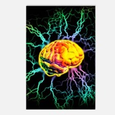 Brain activity Postcards (Package of 8)