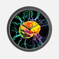 Brain activity Wall Clock
