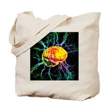 Brain activity Tote Bag