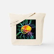 Brain activity Tote Bag