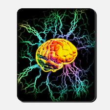 Brain activity Mousepad