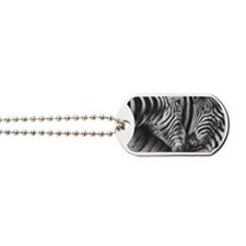 Zebras Small Luggage Tag Dog Tags