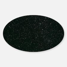 Cassiopeia constellation Sticker (Oval)