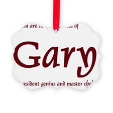 Master Chef Gary 1 Ornament