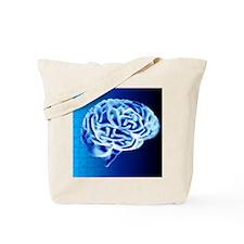 Brain puzzle Tote Bag