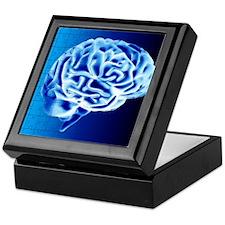 Brain puzzle Keepsake Box
