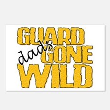 Guard Dads Gone Wild Postcards (Package of 8)
