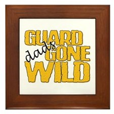 Guard Dads Gone Wild Framed Tile