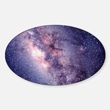 Central Milky Way Sticker (Oval)
