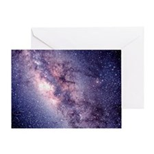 Central Milky Way Greeting Card