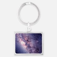 Central Milky Way Landscape Keychain