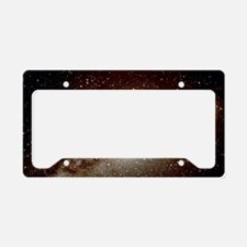 Central Milky Way in constell License Plate Holder