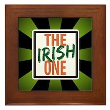 The Irish One Framed Tile