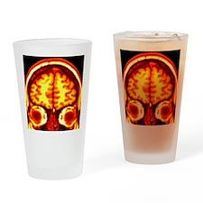 Brain, MRI scan Drinking Glass