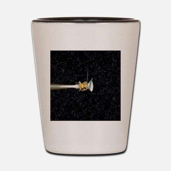 Cassini spacecraft Shot Glass