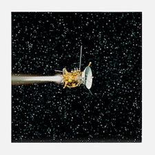 Cassini spacecraft Tile Coaster