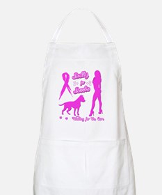Bully for Boobs, Pitbulls  Breast Cancer Apron