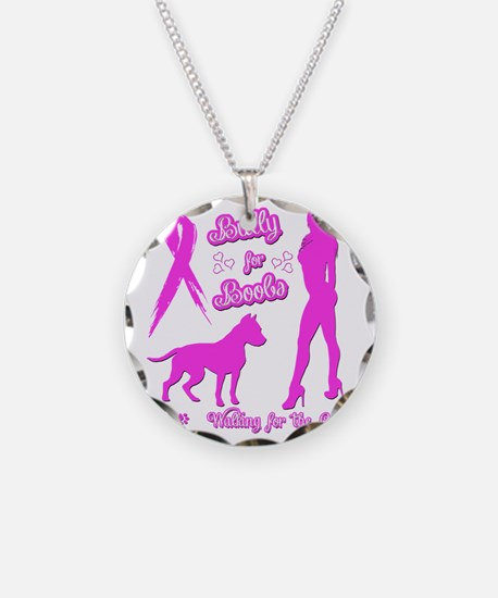 Bully for Boobs, Pitbulls  B Necklace