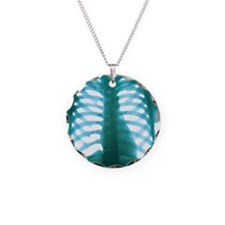 Chest X-ray of a healthy hum Necklace