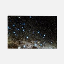 Centaurus and Crux constellations Rectangle Magnet