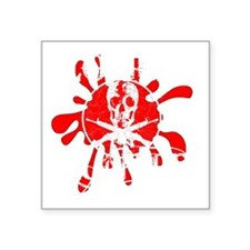 """Zombie Hunter Square Sticker 3"""" x 3"""""""