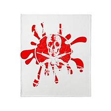 Zombie Hunter Throw Blanket