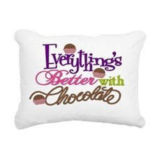 Everythings Better Bag Rectangular Canvas Pillow