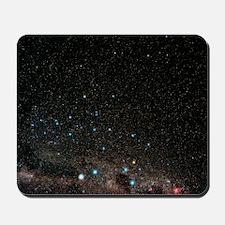 Centaurus constellation Mousepad