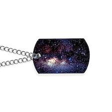 Central Milky Way in constellation Sagitt Dog Tags