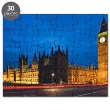 Big Ben at night, London, England Puzzle
