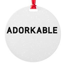 Adorkable Ornament