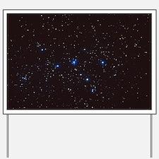 Cassiopeia constellation Yard Sign