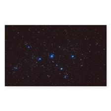 Cassiopeia constellation Decal