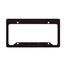 Cassiopeia constellation License Plate Holder