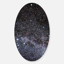 Cassiopeia and Cepheus constellatio Sticker (Oval)