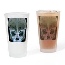 Child's skull Drinking Glass