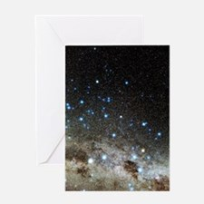 Centaurus and Crux constellations Greeting Card