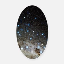 Centaurus and Crux constellations Oval Car Magnet