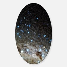 Centaurus and Crux constellations Sticker (Oval)