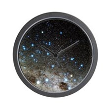 Centaurus and Crux constellations Wall Clock