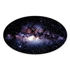 Central Milky Way in constellation  Decal