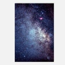 Central Milky Way in cons Postcards (Package of 8)
