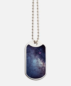 Central Milky Way in constellation Sagitt Dog Tags