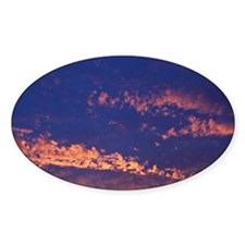 Clouds at sunrise Decal